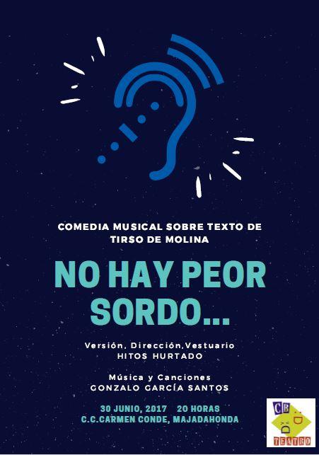 cartel sordo